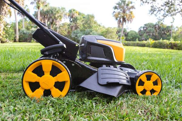 62 Volt Battery Powered Mower