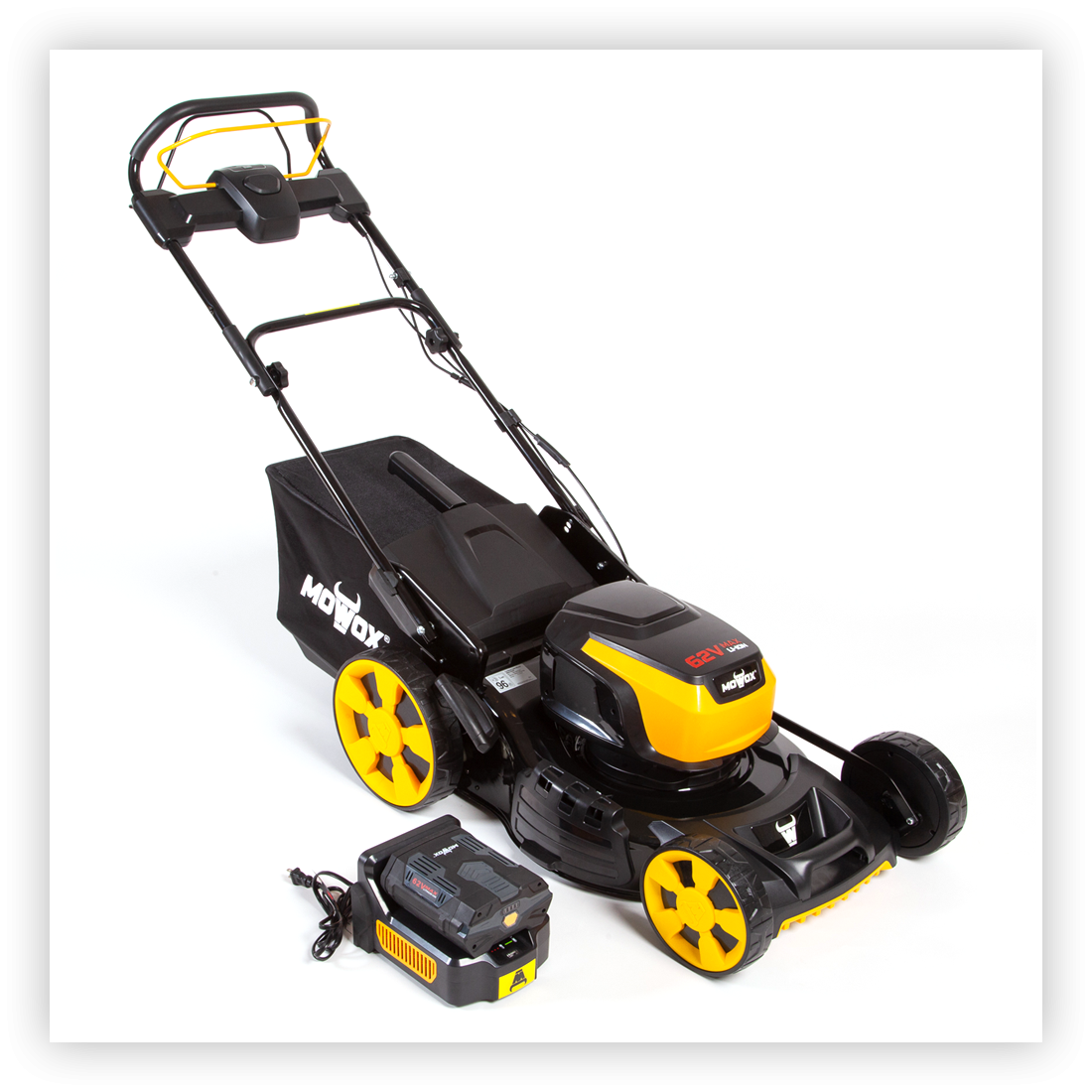 62 Volt Self-Propelled Battery-Powered Mower
